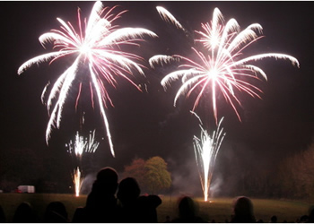 Ware Fireworks Display