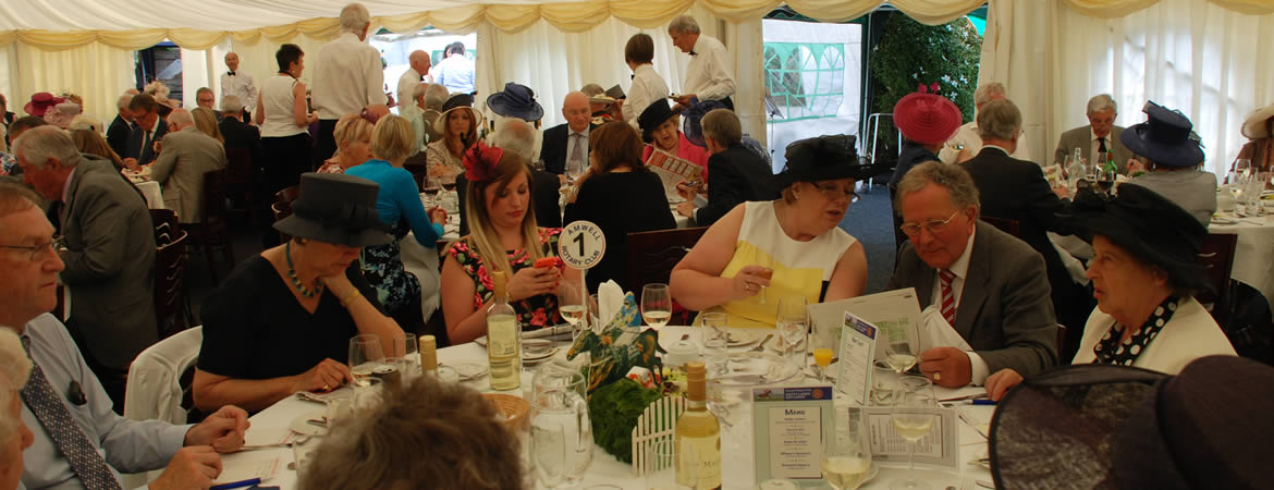 Ladies Day - The Races come to Amwell Rotary Club!